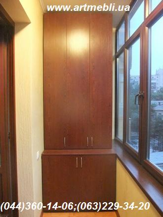 Closet to the balcony (balcony cabinet)