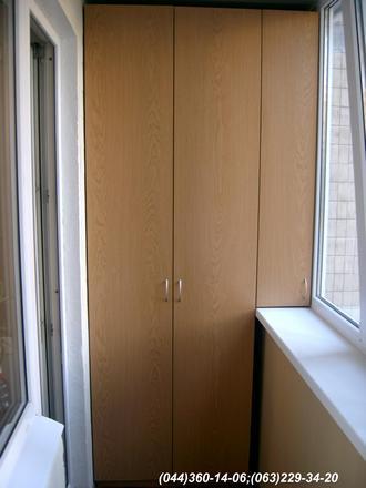 Шафа на балкон (Шафа балконна) ДСП - Дуб Ясний