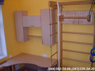 Меблі в дитячу кімнату. Стіл, полиці в дитячу ДСП - Груша Д-401