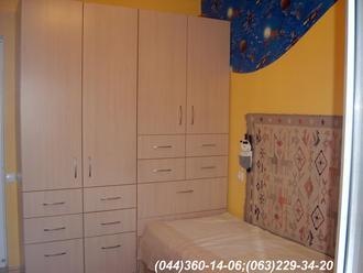 Меблі в дитячу кімнату. Шафа в дитячу ДСП - Груша Д-401