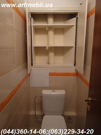 Shkaf Tualet, Шкаф в туалет, Шкаф туалетный, Киев