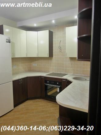 Кухня угловая, двухсторонняя.Kuhnya, Кухня, Киев, kitchen
