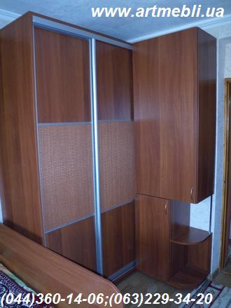 wardrobe with sliding doors l shaped cabinets with. Black Bedroom Furniture Sets. Home Design Ideas