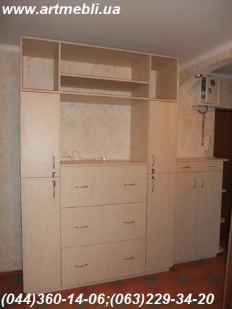Стенка в квартиру мебельная. Горка