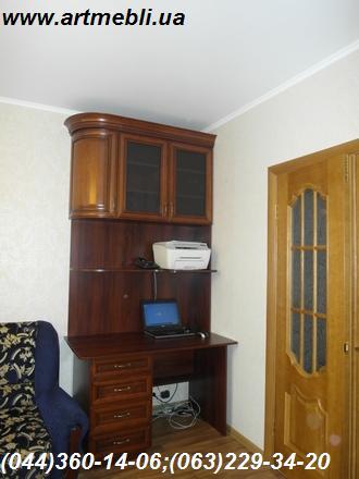 Стенка в квартиру мебельная. Горка Фасады натуральное дерево
