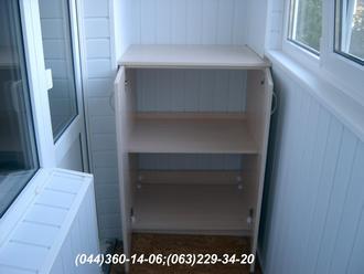 Тумба на балкон (Тумба балконна) ДСП - Дуб молочний Ящик для картоплі (овочів)