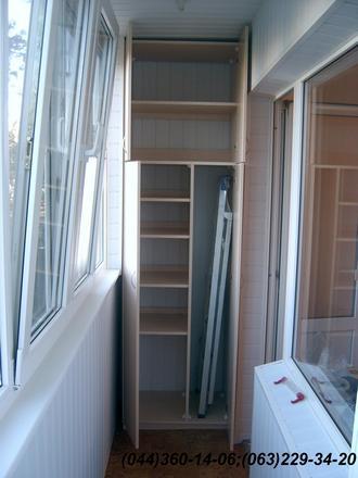 044) 360-14-06 (063) 229-34-20, шкаф на балкон, шкаф балк....